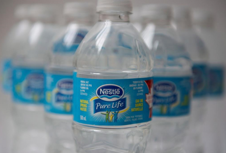 water, Nestle, Ontario, bottles, environment