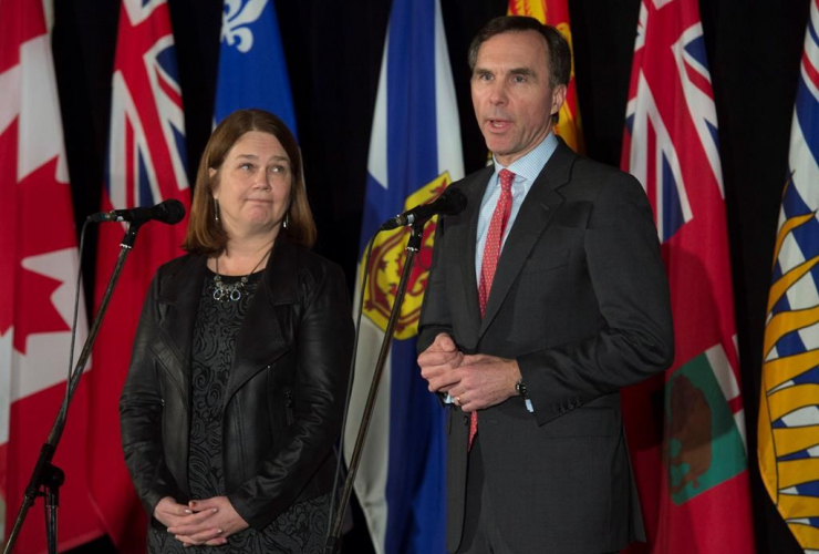 Bill Morneau, Jane Philpott