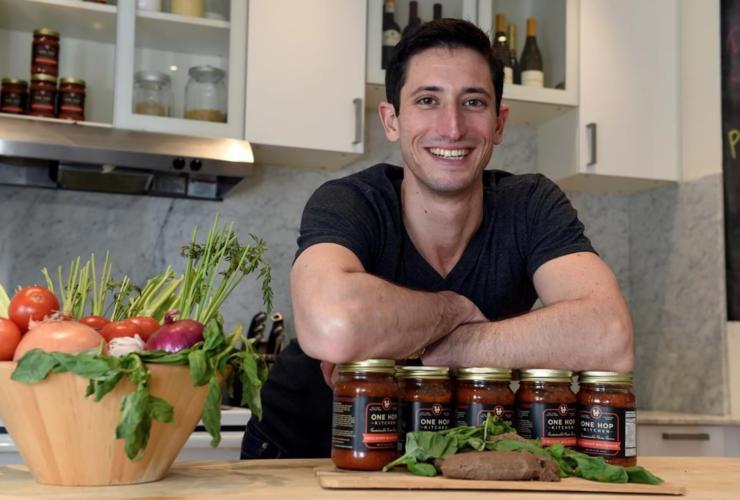 Eli Cadesky, insects, C-fu Foods, Toronto, chef