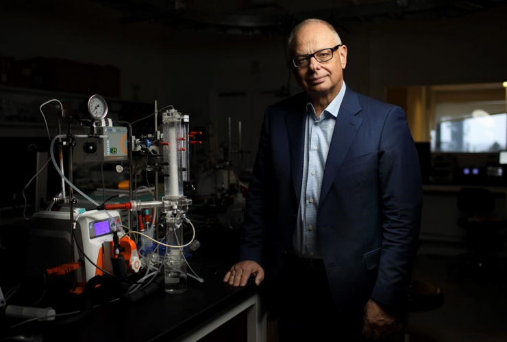Edmonton, Carlo Montemagno, Ingenuity Lab, carbon dioxide