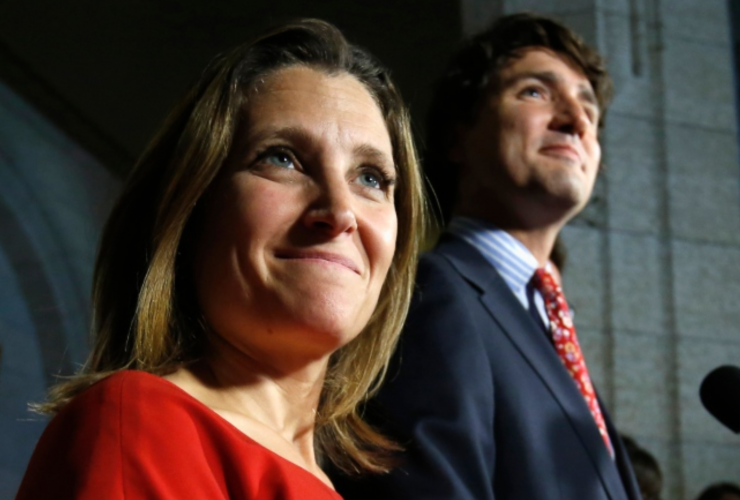 Chrystia Freeland, International Trade Minister, Foreign Affairs