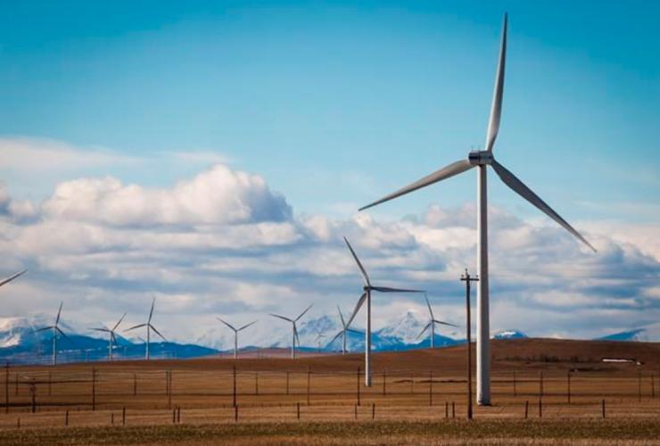 TransAlta, wind turbines, wind power, renewable energy, Pincher Creek, Alberta