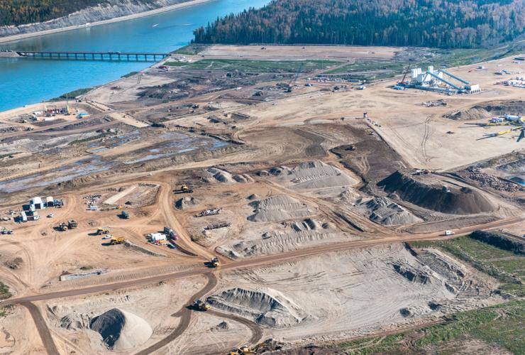 Site C Dam, BC Hydro, Peace River, Garth Lenz, DeSmog Canada