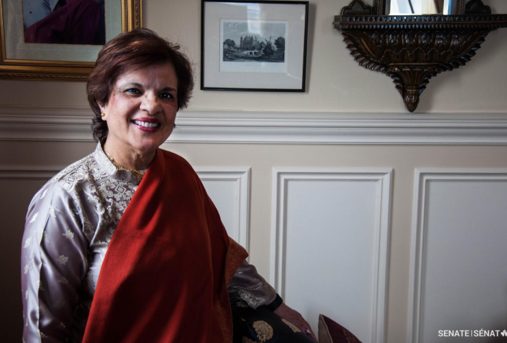 Senator, Mobina Jaffer, Senate, Bill C-16, transgender rights, gender identity