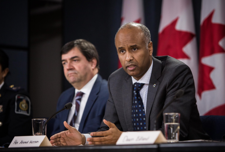 Ahmed Hussen, Immigration Refugees and Citizenship, Daniel Jean, Trump, immigration ban, travel ban