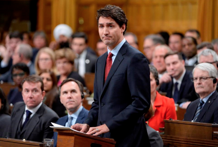 Justin Trudeau, House of Commons, Quebec shooting, Ste Foy