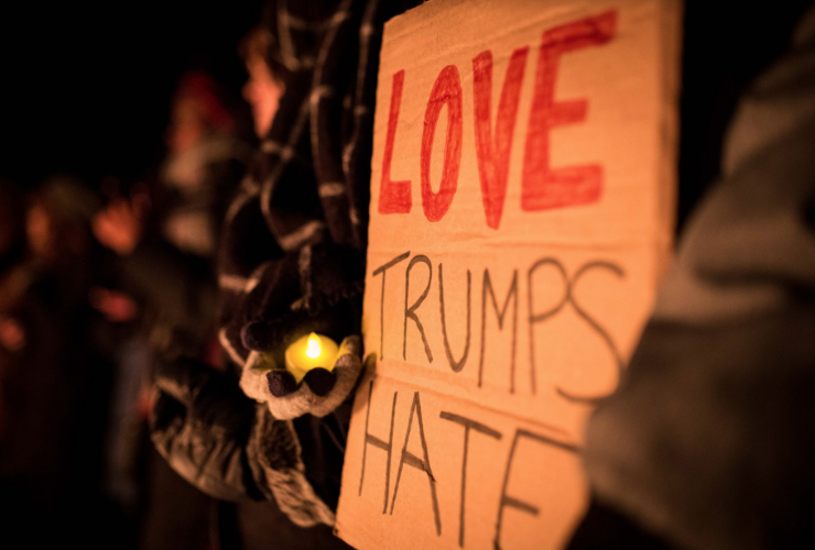 candlelight vigil, Quebec shootings, Parliament Hill,