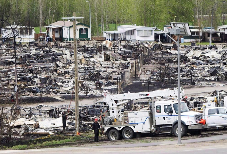Fort McMurray, fire