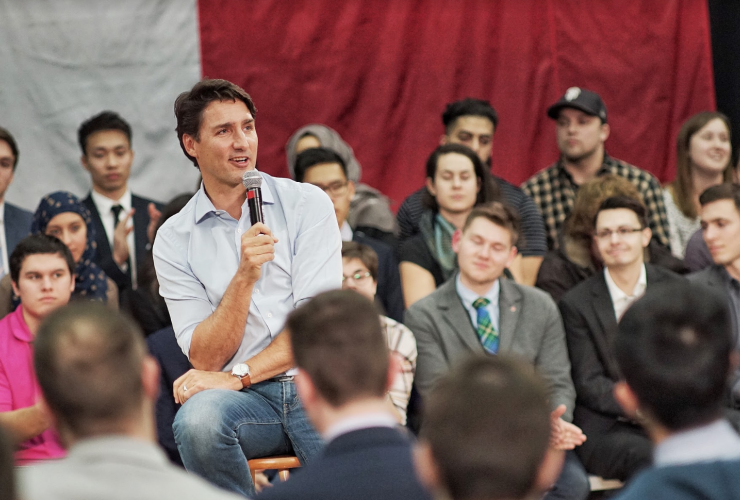 Justin Trudeau, town hall, calgary, oilsands
