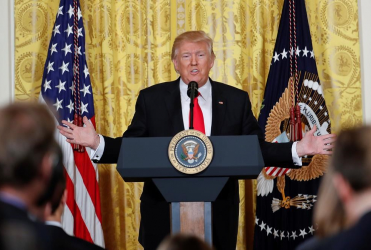 donald trump, jaw-dropping, news conference