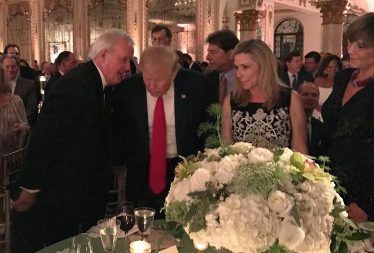 Brian Mulroney, Donald Trump
