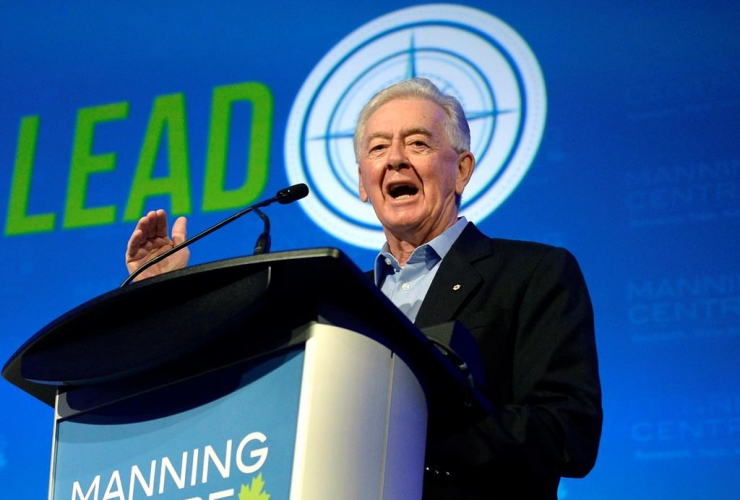 Preston Manning founder of the Reform party