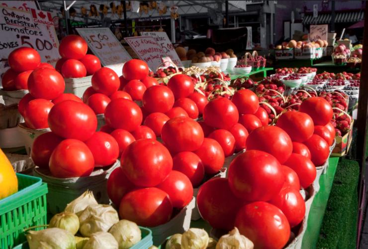 tomatoes, ByWard Market, Ottawa, Chef Sam Robertson