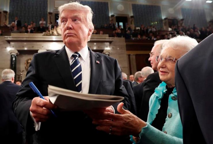 Donald Trump, President, White House, Washington, Oval Office