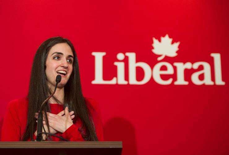 Liberal Party of Canada, Montreal, Emmanuella Lambropoulos, nomination