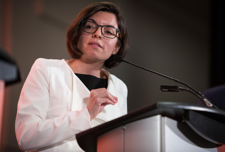 Manitoba NDP MP Niki Ashton is one of four candidates vying for the party's leadership.