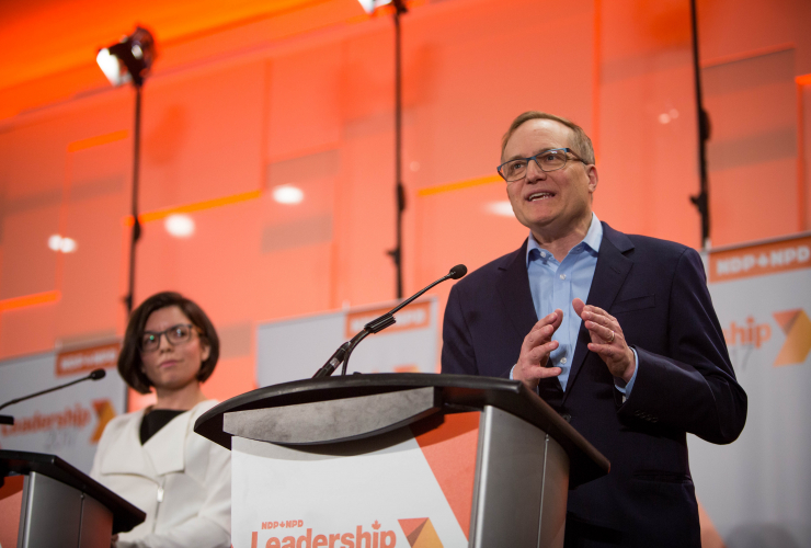 Peter Julian, the NDP MP for Burnaby-New Westminster, is one of four candidates running for the party's leadership. Photo by Alex Tétreault.