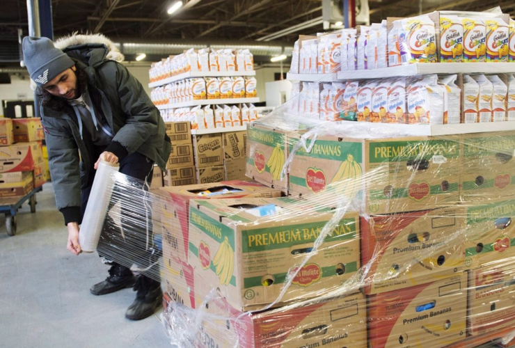 food bank, food security, Montreal, Moisson Montreal