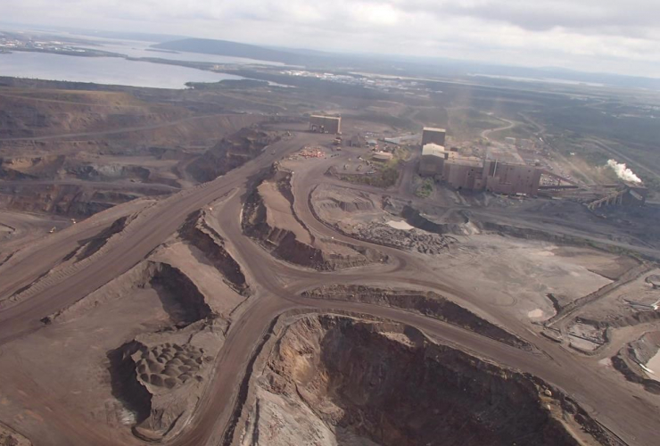 The Wabush mine is shown in a Sept. 6, 2012 file photo from the Newfoundland and Labrador Department of Natural Resources.