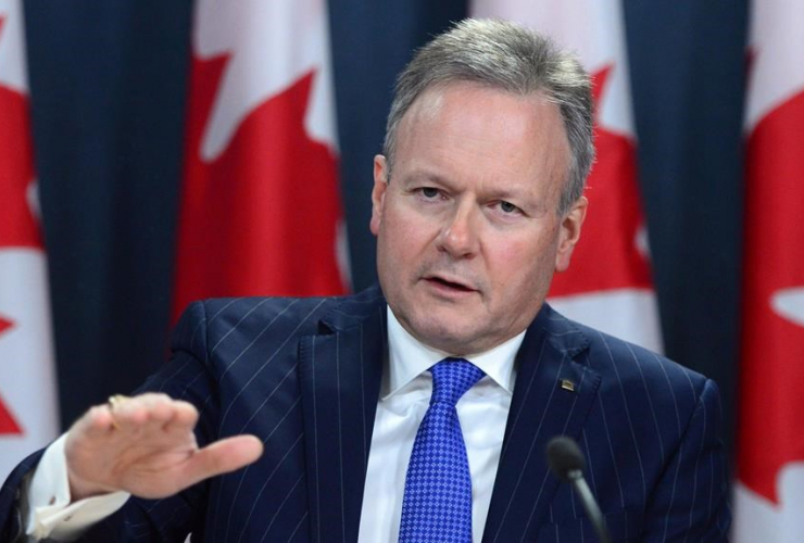Bank of Canada governor Stephen Poloz holds a news conference at the National Press Theatre in Ottawa on Dec. 15, 2016.