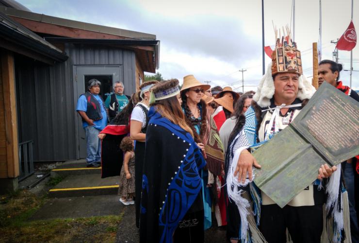 Haida Nation, potlatch, hereditary chiefs, Haida Gwaii, Trevor Jang, Discourse Media
