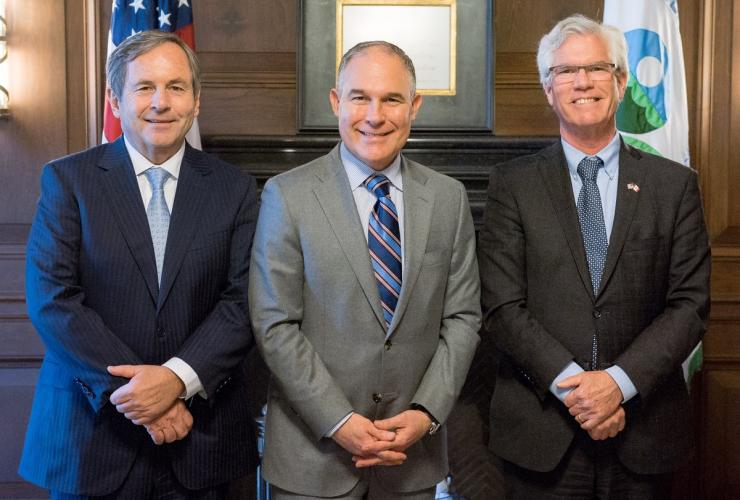 David MacNaughton, ambassador, Canada, United States, Jim Carr, Scott Pruitt