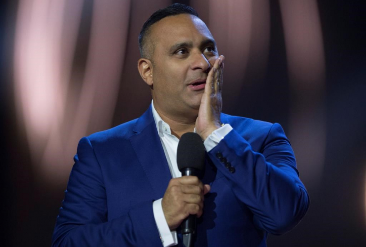 Russell Peters hosts the Juno awards show,  Sunday April 2, 2017 in Ottawa.