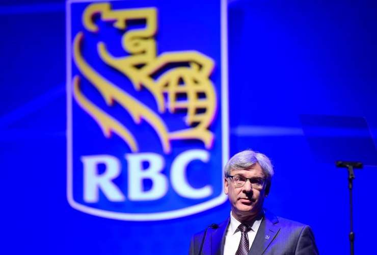 Royal Bank president David McKay speaks at the Royal Bank of Canada annual meeting in Toronto on Thursday, April 6, 2017.