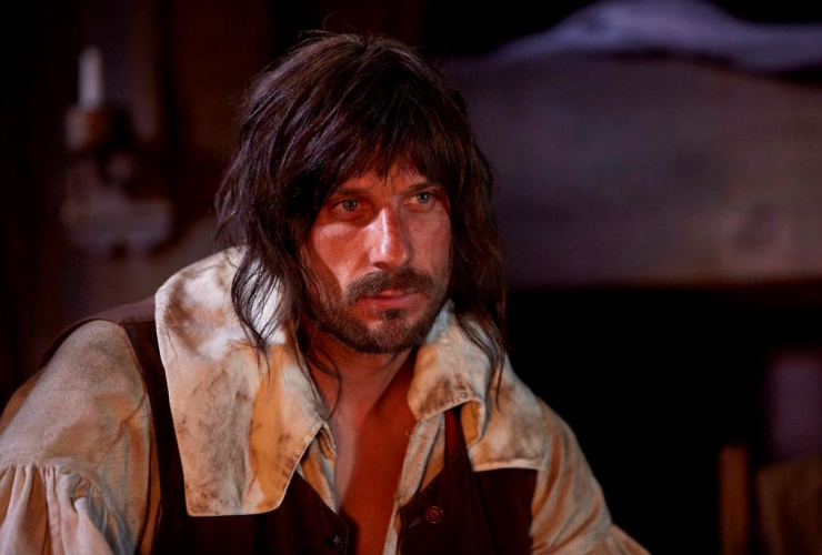 """Actor Greg Zajac portrays French explorer Samuel de Champlain in a handout photo from the CBC docu-drama """"Canada:The Story of Us."""""""