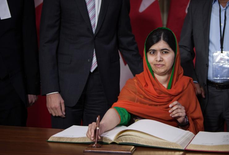 Malala Yousafzai, Parliament Hill, honorary Canadian, Pakistan