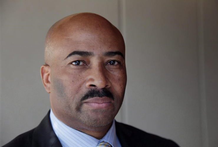 Senator Don Meredith seen during an interview in Toronto, Thursday, March 16, 2017. The Senate's ethics committee says it will table a report later today recommending what to do about Sen. Meredith.