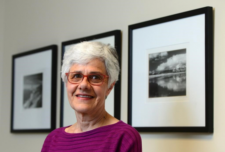 Louise Plouffe, Ph.D., Director of Research at the International Longevity Centre (ILC) Canada, is pictured in her office at the University of Ottawa in Ottawa on May 1, 2017.