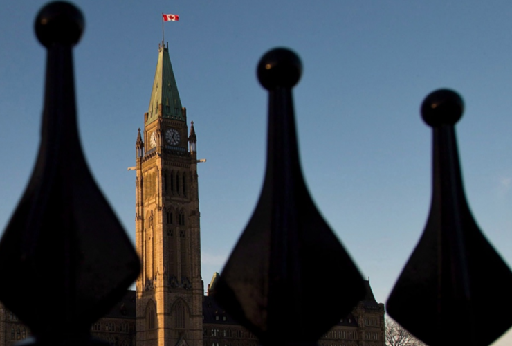 Parliament Hill, Peace Tower, Centre Block, downtown Ottawa, Ottawa