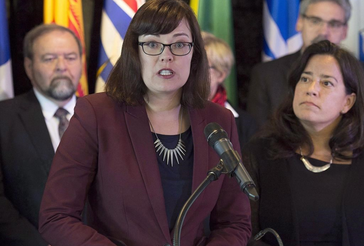 Alberta Justice Minister Kathleen Ganley. Photo by The Canadian Press