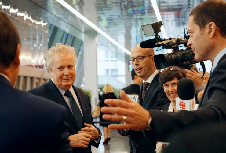 Jean Charest, Quebec premier, Energy East, National Energy Board, Montreal
