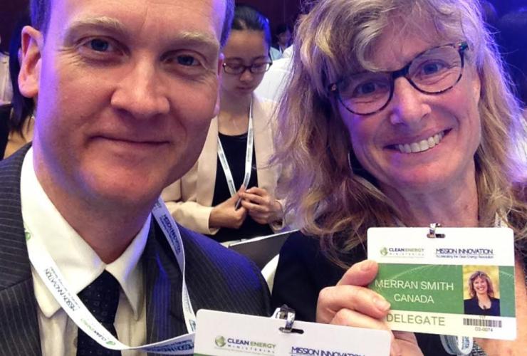 Clean Energy Canada, Clean Energy Ministerial, Beijing, Merran Smith, Dan Woynillowicz