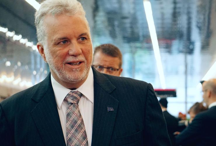 Philippe Couillard, Quebec, Montreal, Obama
