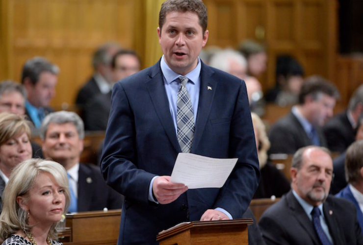 Andrew Scheer, Conservative leader, House of Commons