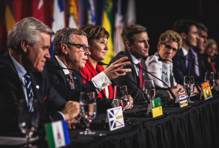 First Ministers meeting, Ottawa, December, Brad Wall, Christy Clark