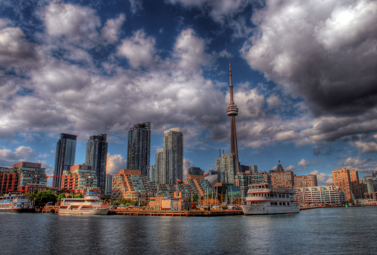 Toronto, CN Tower, climate change, municipal government, City of Toronto
