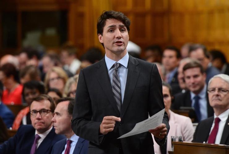 Justin Trudeau, Scott Brison, Bill Morneau, Marc Garneau, access to information