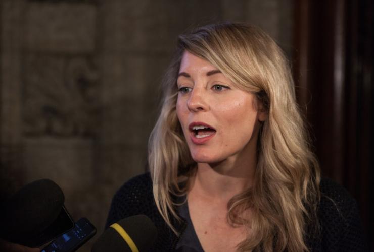 Mélanie Joly, Heritage Minister, CBC