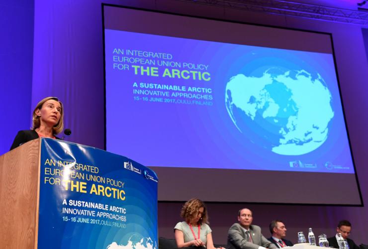 Federica Mogherini, European Union, Arctic, Finland
