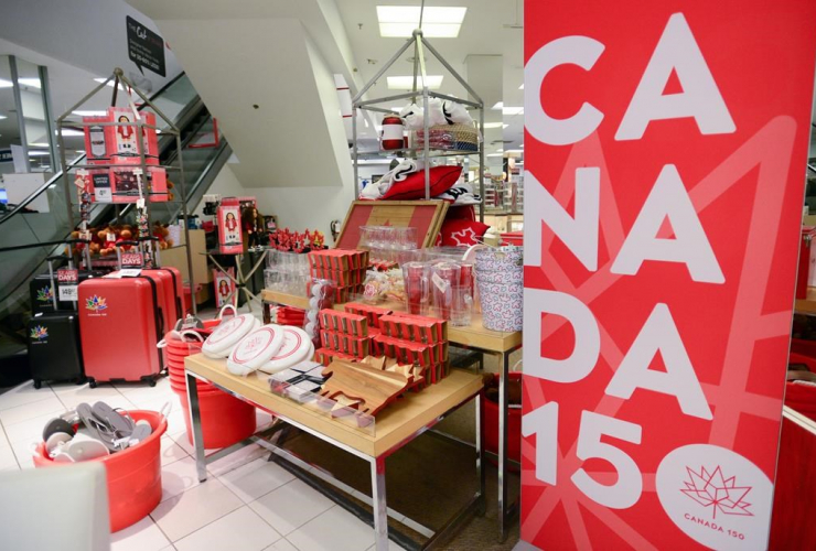 Canadian, merchandise, Canada, 150th birthday, Canada 150 logo, sesquicentennial,