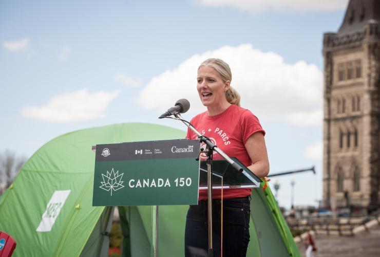 Catherine McKenna, Parks Canada, Parliament Hill, Ottawa