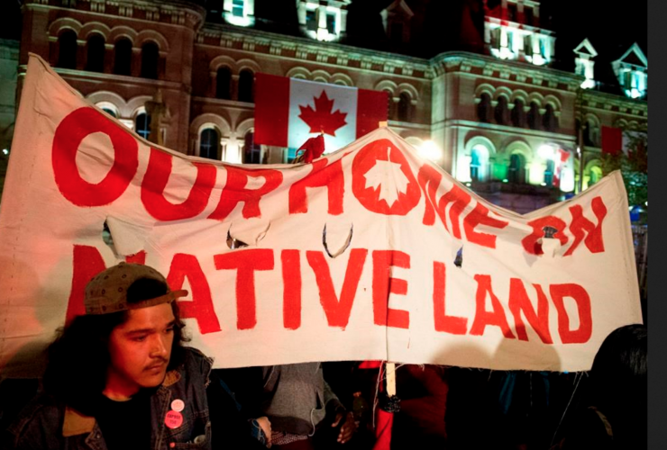 Indigenous people, protest, Canada150, Parliament Hill, teepee