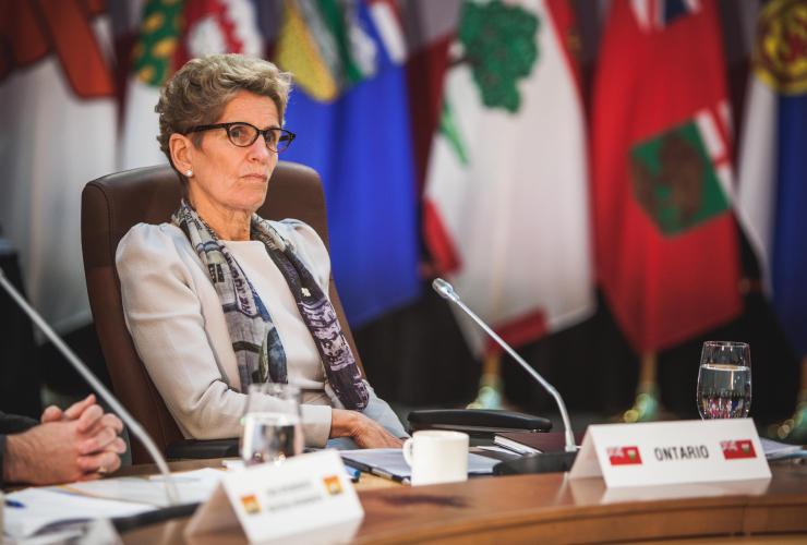 Kathleen Wynne, Ottawa, climate change