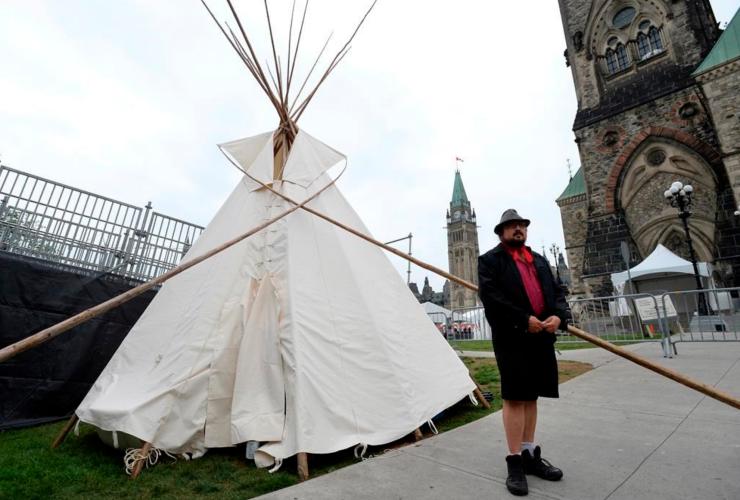 Canada150, UNsettleCanada150, Parliament Hill, water protectors
