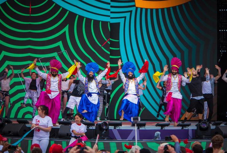 Bhangra Dance, Canada150, Canada Day, Ottawa, Parliament Hill