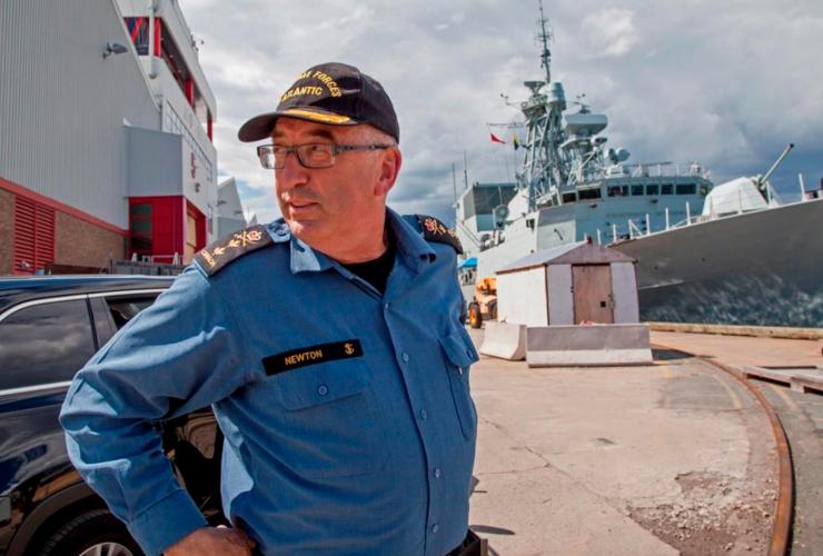 John Newton, Admiral, Maritime Forces Atlantic